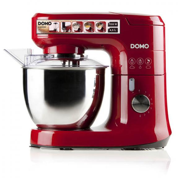 Kitchen machine with accessories (red) - DO9145KR